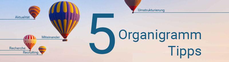Tipps für Ihr Online-Organigramm